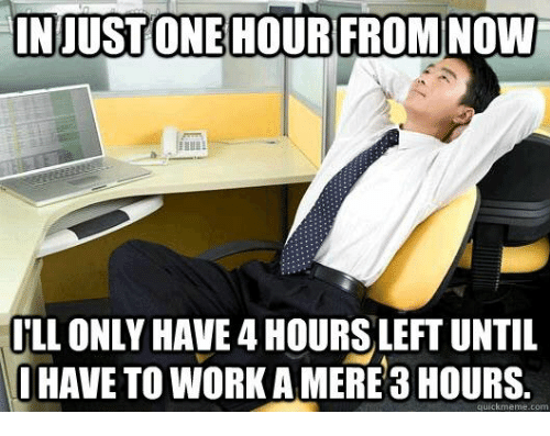 Work Com And Now Injustone Hour From Now Ll Only Have 4 Hours