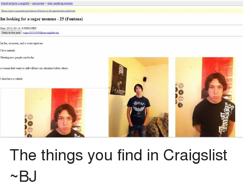 Craigslist eugene men seeking women