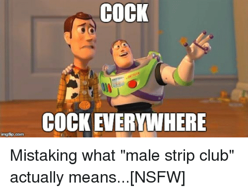 Well, not club male strip video right!