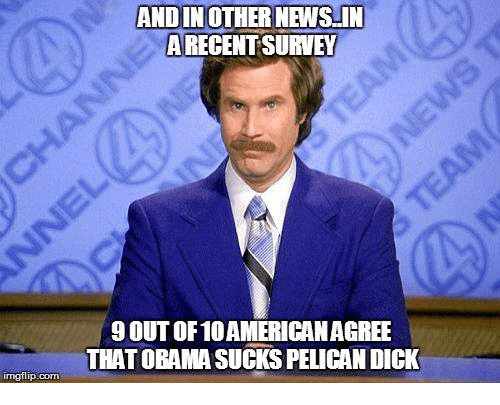 Media suck up to obama