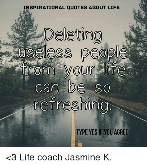 INSPIRATIONAL QUOTES ABOUT LIFE Deleting Less Can Be SC Refreshing Delectable Life Coaching Quotes