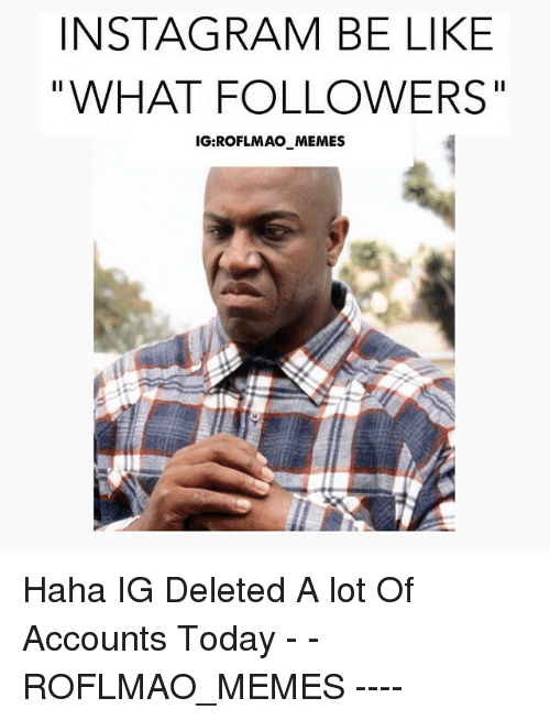 Instagram Meme On Sizzle: INSTAGRAM BE LIKE WHAT FOLLOWERS IG ROFLMAO MEMES Haha IG