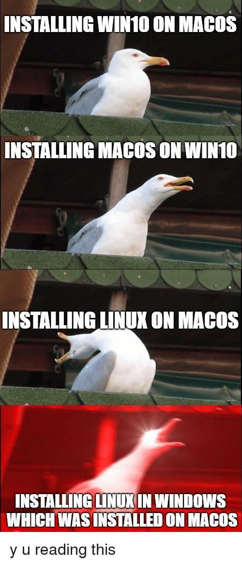 INSTALLING WIN10 ON MACOS INSTALLING MACOS ON WIN1O