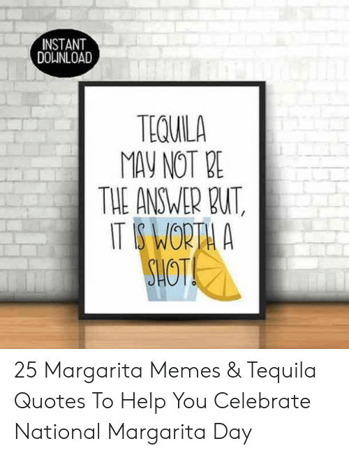 INSTANT DOLINLOAD TEQUILA MAY NOT E THE ANSWER BU 25 ...