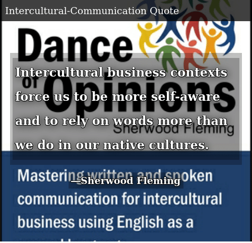 Intercultural Business Contexts Force Us to Be More Self