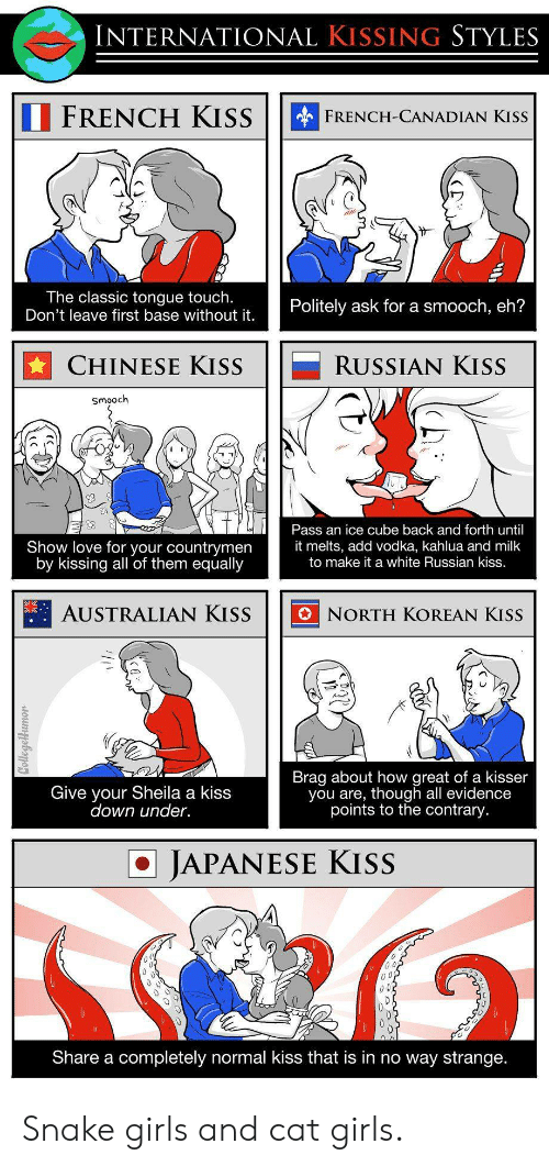 From french come did where kissing Origins of