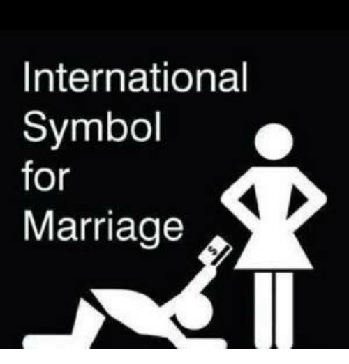International Symbol For Marriage Marriage Meme On Me