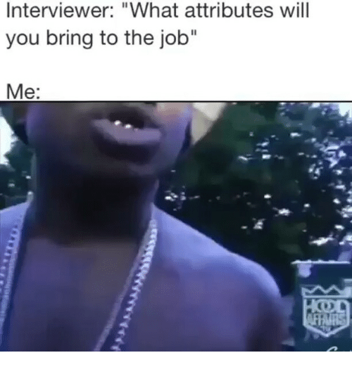 what do you bring to this job