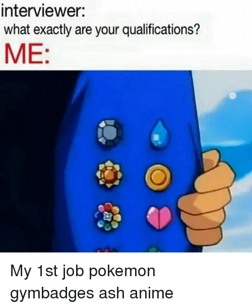 my qualifications are
