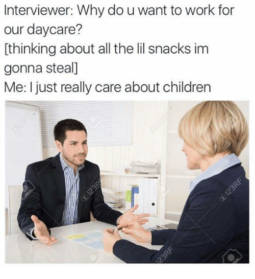 why do you want to work with children