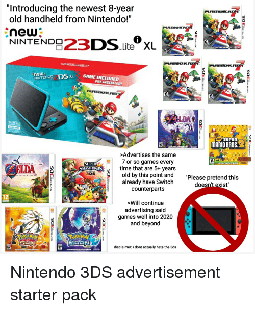 3ds Games 2020.Introducing The Newest 8 Year Old Handheld From Nintendo