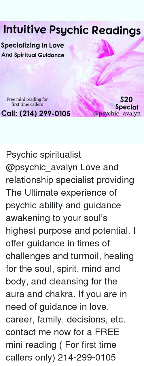 America's Most Authentic Psychic Network.