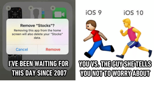 iOS 9 iOS 10 Remove Stocks? Removing This App From the Home