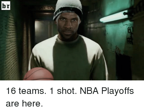 Nba, Sports, and Nba Playoffs: Iq 16 teams. 1 shot. NBA Playoffs are here.
