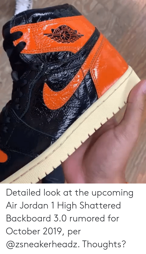 the latest b18a8 ccd2d IR Detailed Look at the Upcoming Air Jordan 1 High Shattered ...