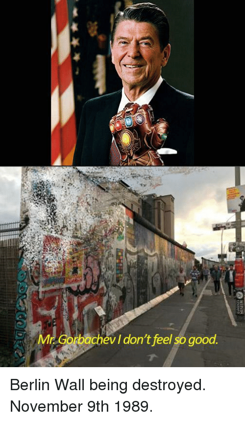 Good, Berlin, and Berlin Wall: ir  v I don't feel so good Berlin Wall being destroyed. November 9th 1989.