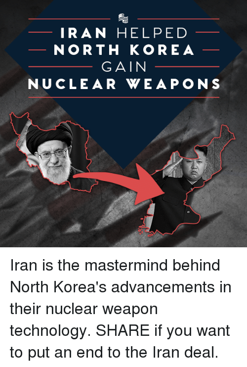 nuclear weapons in north korea and iran relationship