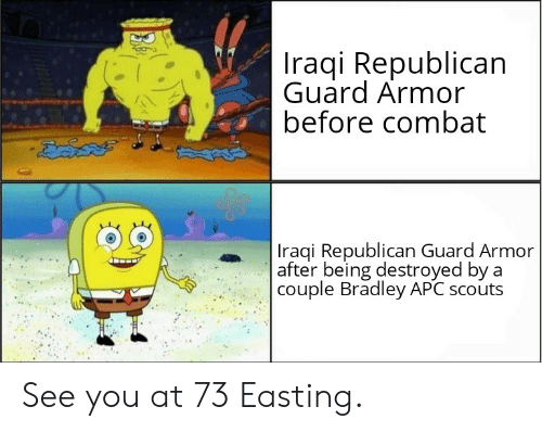 Iraqi Republican Guard Armor Before Combat Iraqi Republican