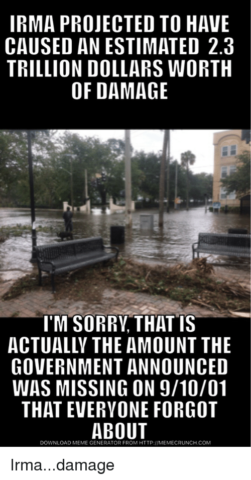 irma projected to have caused an estimated 2 3 trillion dollars 27661197 ✅ 25 best memes about imgur meme generator imgur meme