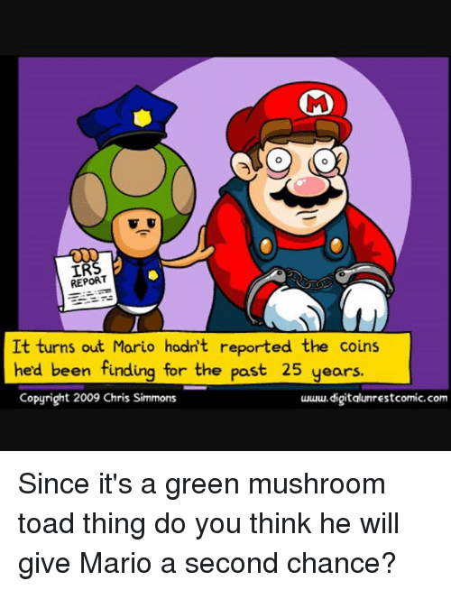 Mario and the IRS