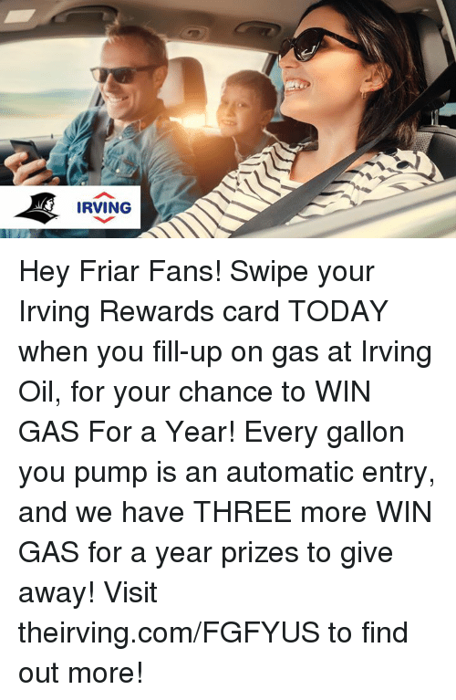 memes and three irving hey friar fans swipe your irving rewards - Irving Rewards Card