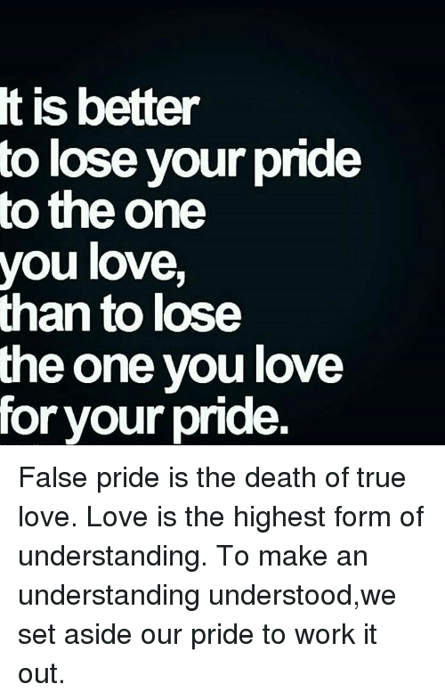 Memes, 🤖, And True Love: Is Better To Lose Your Pride To The
