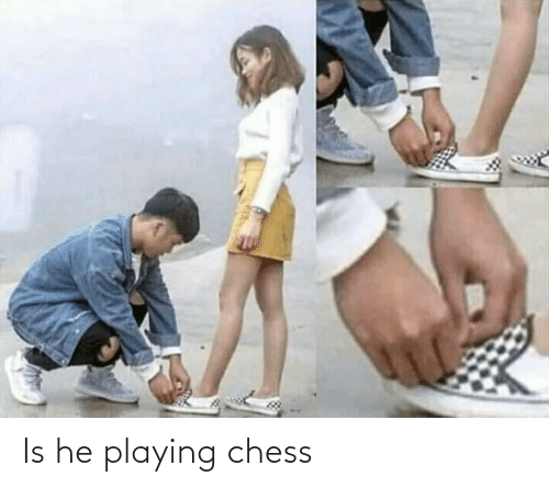 Chess,  Playing Chess, and Playing: Is he playing chess
