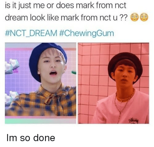 Is It Just Me or Does Mark From Nct Dream Look Like Mark From Nct U