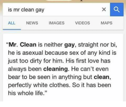 Gay ass cleaning