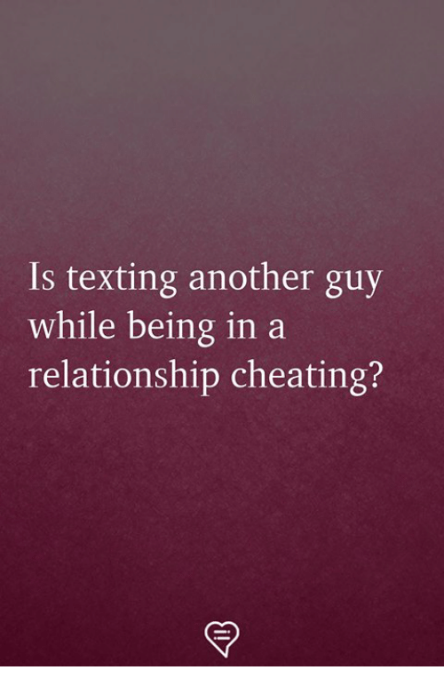 is texting cheating on your spouse