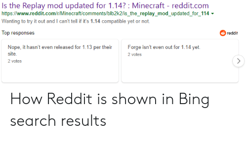Is the Replay Mod Updated for 114? Minecraft - Redditcom