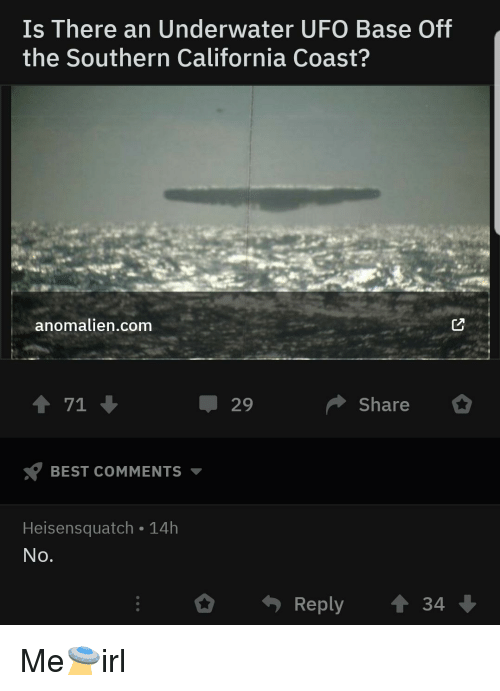 Is There an Underwater UFO Base Off the Southern California Coast