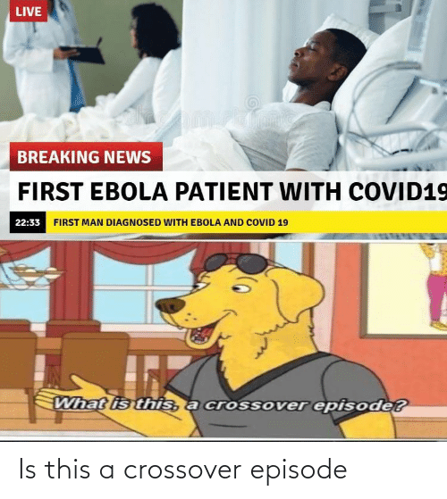 Crossover, This, and  Episode: Is this a crossover episode