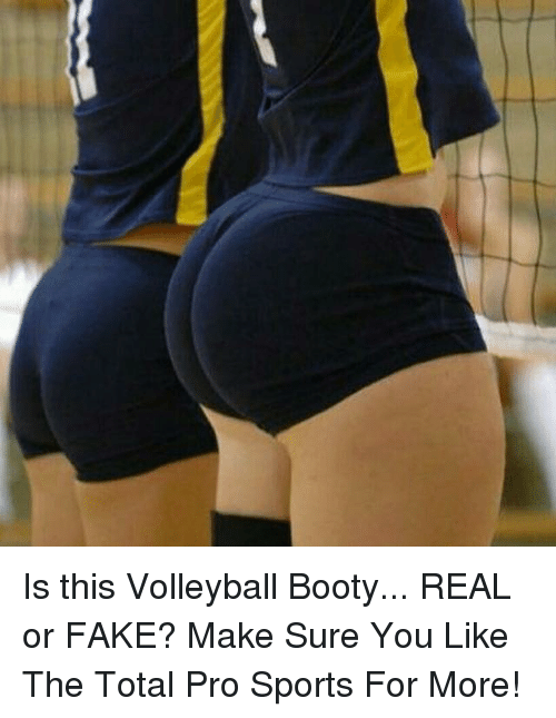 volley ball ass