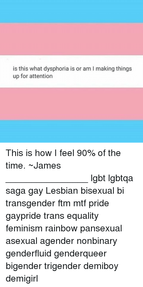 Is This What Dysphoria Is or Am L Making Things Up for