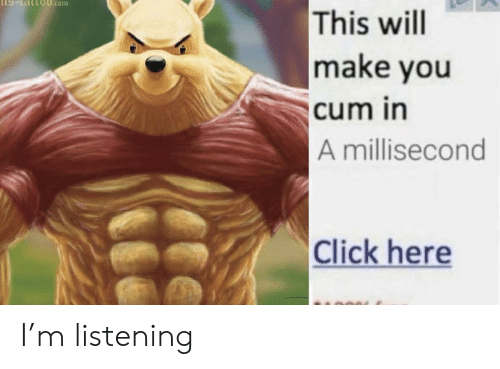 Click, Cum, and Reddit: IS-tsittoB.com  This will  make you  cum in  A millisecond  Click here I'm listening