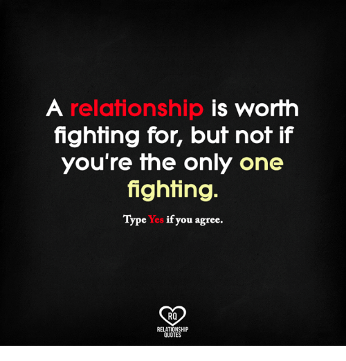Fresh Fighting In A Relationship Quotes