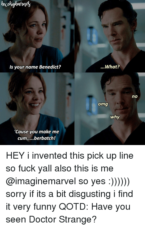 funny doctor pick up lines