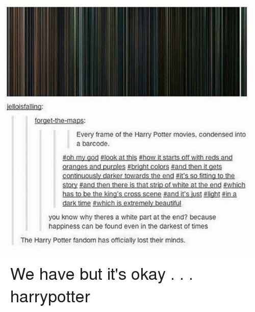 Isfal for Every Frame of the Harry Potter Movies Condensed Into a ...