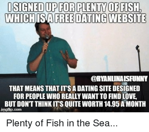 plenty of fish sign up for free
