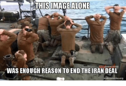 Iran, Conservative, and Reason: ISIMAGEALONE  WAS ENOUGH REASON TO END THE IRAN DEAL  makeameme.org