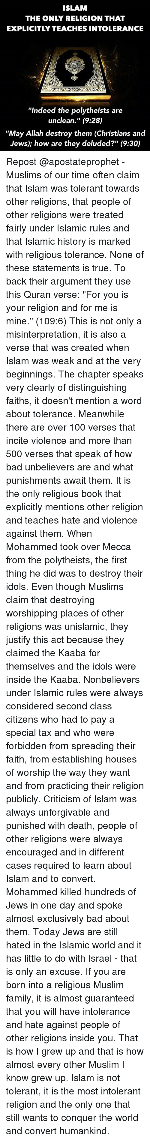 an argument against the beliefs that god is the enemy of unbelievers They used these 'sword verses' to justify war against unbelievers as a tool  as  non-believers and thus as enemies of god against whom it is.