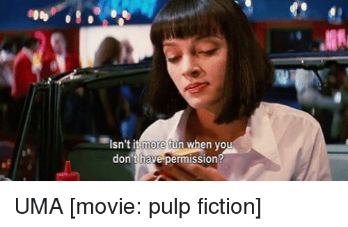 Elegant Memes, Pulp Fiction, And 🤖: Isnu0027t It More Fun When You
