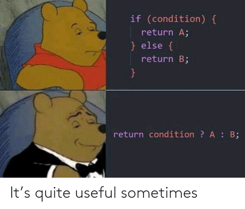 Quite, Sometimes, and Useful: It's quite useful sometimes