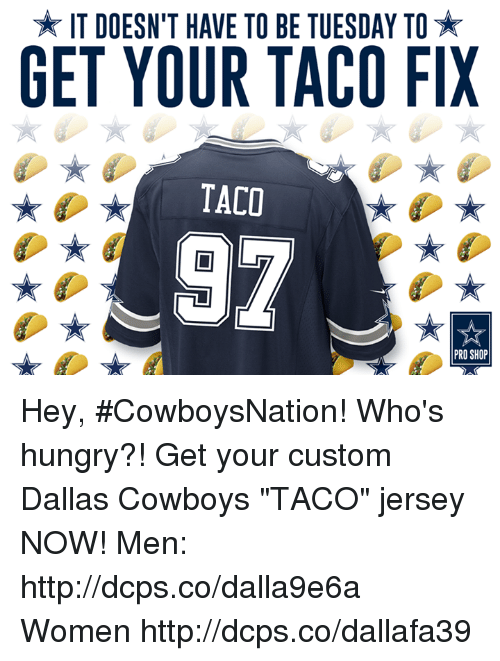 IT DOESN T HAVE TO BE TUESDAY TO GET YOUR TACO FIX TACO 97 PRO SHOP ... 5b9364906