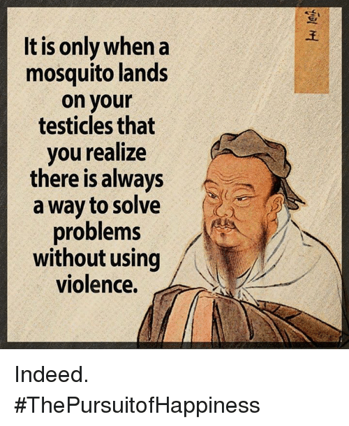 ways to solve problems without violence It is actually very hard to find a work that would show a way of non- violent solution to any conflict or problem authors generally even put an emphasis on the cruelty of the characters to show how badly they end up because of what they did and they make us come to the conclusion that if the character had.