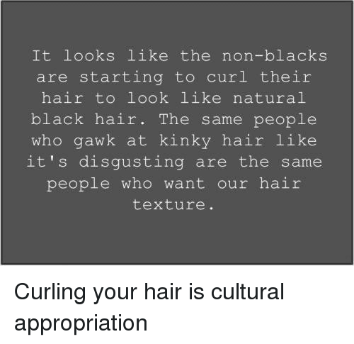 Tumblr Hair And Curl It Looks Like The Non Blacks Are Starting