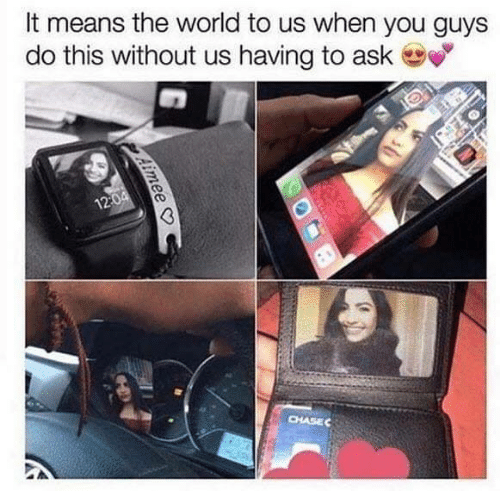 Memes, World, and 🤖: It means the world to us when you guys  do this without us having to ask  120  CHASEC