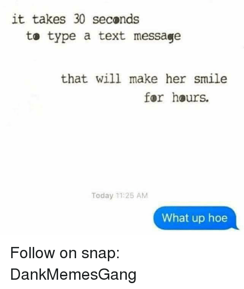 Make her smile text messages
