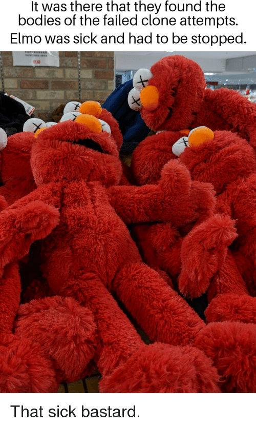 Elmos Vaccine Video Is Cutest Argument >> It Was There That They Found The Bodies Of The Failed Clone Attempts